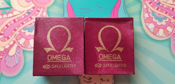 Encendedor Antiguo Retro Vintage Omega Original