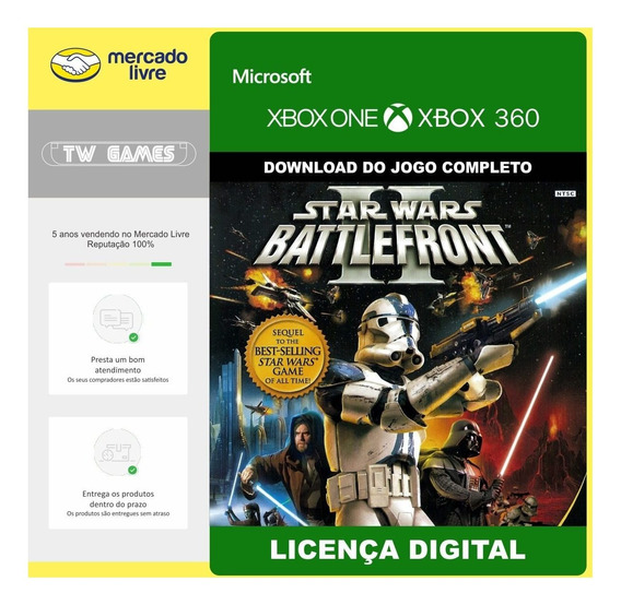 Star Wars Battlefront 2 Retro Digital Xbox 360 Xbox One