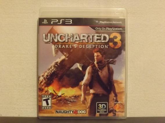 Ps3 Uncharted 3 Dublado Em Português - Completo - Trocas...