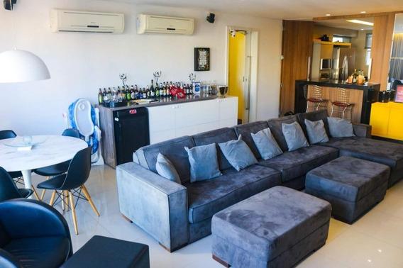 Apartamento Em Cocó, Fortaleza/ce De 129m² 3 Quartos À Venda Por R$ 540.000,00 - Ap285766