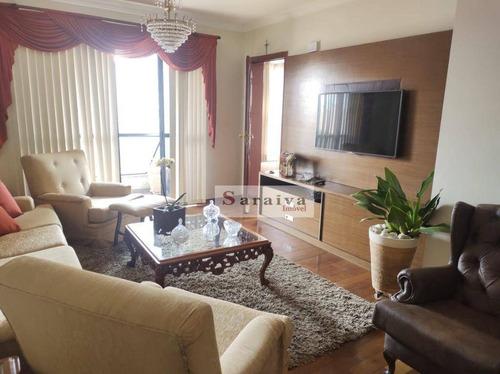 Imagem 1 de 30 de Apartamento À Venda, 127 M² Por R$ 640.000,00 - Vila Caminho Do Mar - São Bernardo Do Campo/sp - Ap3763