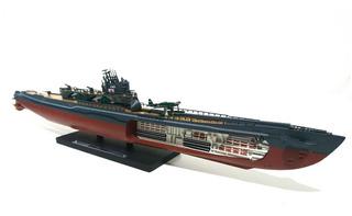 1:350 Submarino Imperial Japonês I-401 1945 - 34 Cm Colado