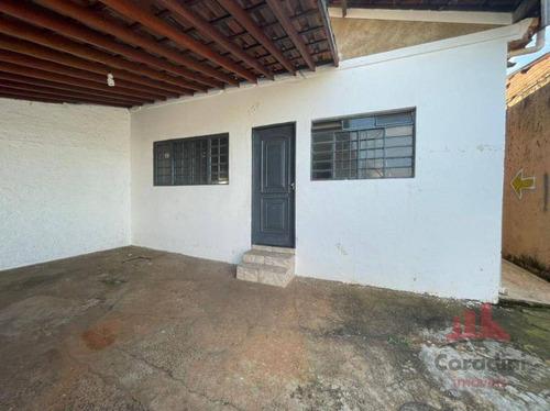 Imagem 1 de 11 de Casa Com 2 Dormitórios Para Alugar, 150 M² Por R$ 1.000,00/mês - Residencial Santa Luiza I - Nova Odessa/sp - Ca3029