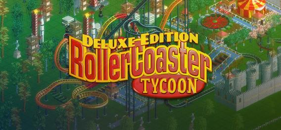Rollercoaster Tycoon Deluxe Pc Original Envio Grátis Sg