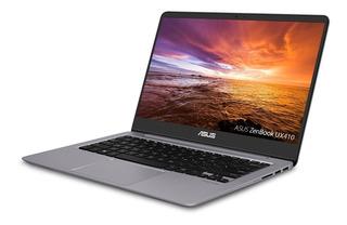 Laptop Asus Zenbook Ultra-slim 14 I7 8gb Fhd Ips A Pedido!