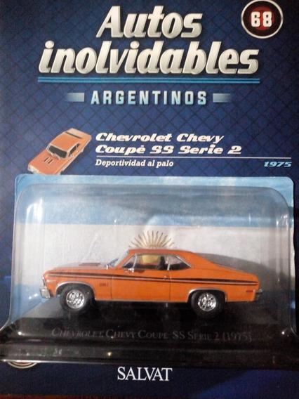 Autos Inolvidables Argentinos Chevlolet Coupe Ss Nº68 Salvat