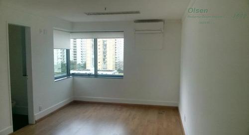 Cj0373 - Conjunto Para Alugar, 38 M² Por R$ 1.300/mês - Moema - São Paulo/sp - Cj0373