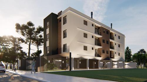 Imagem 1 de 15 de Apartamento Para Venda Em São José Dos Pinhais, Parque Da Fonte, 2 Dormitórios, 1 Banheiro, 1 Vaga - Sjp8448_1-1655374