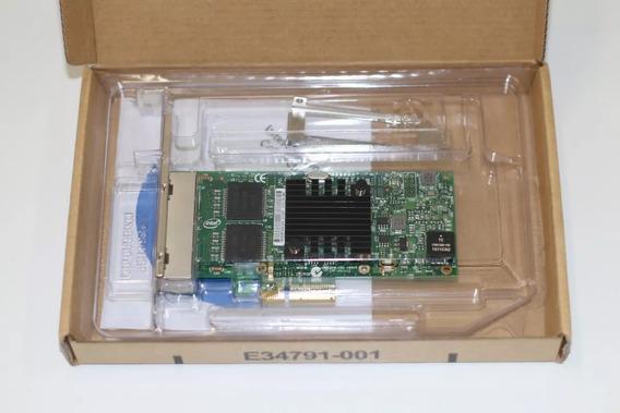 Placa Rede Servidor Supermicro Dell Hp Lenovo I350-t4 4port