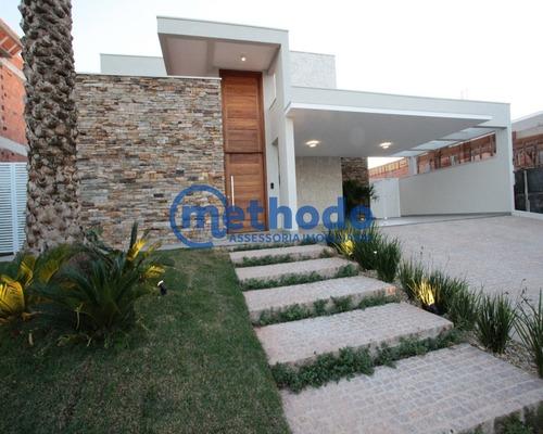 Casa A Venda Alto Padrão Mont Blanc Residence Campinas - Ca00137 - 68423302