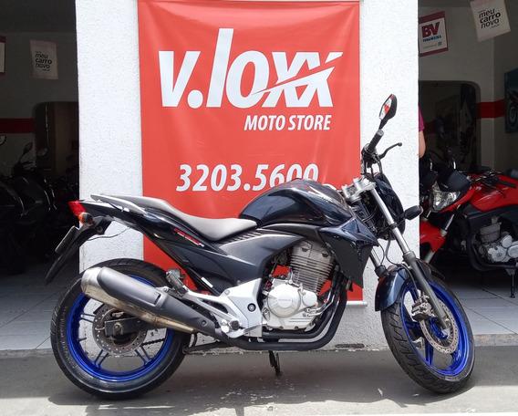 Honda Cb 300 R Azul 2012