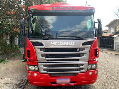Imagem 1 de 11 de Caminhão Bitruck Quarto Eixo Carroceria Scania P310 8x2
