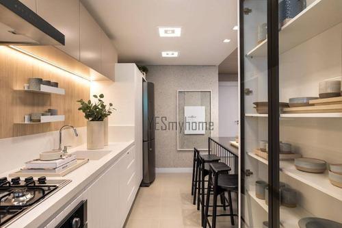 Apartamento Com 3 Dormitórios À Venda, 107 M² Por R$ 905.361,00 - Cabral - Curitiba/pr - Ap3217