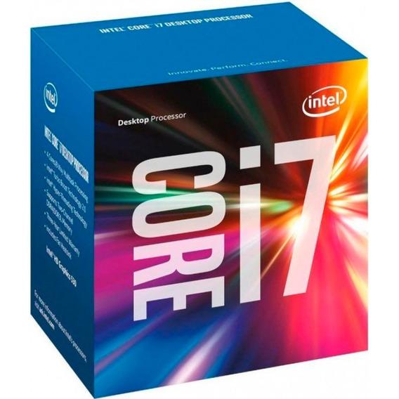 Kit Intel 7ª Geração I7 7700, 8gb Ddr4 Hyperx, Asus B250m-a