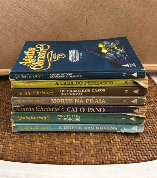 Livro Antigos Agatha Christie
