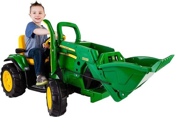 Tractor Juguete Peg Perego Montable De Carga John Deere