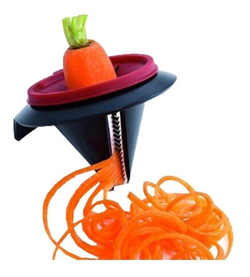 Cortador De Verduras Espiral Fideos Rallador Hilador Manual