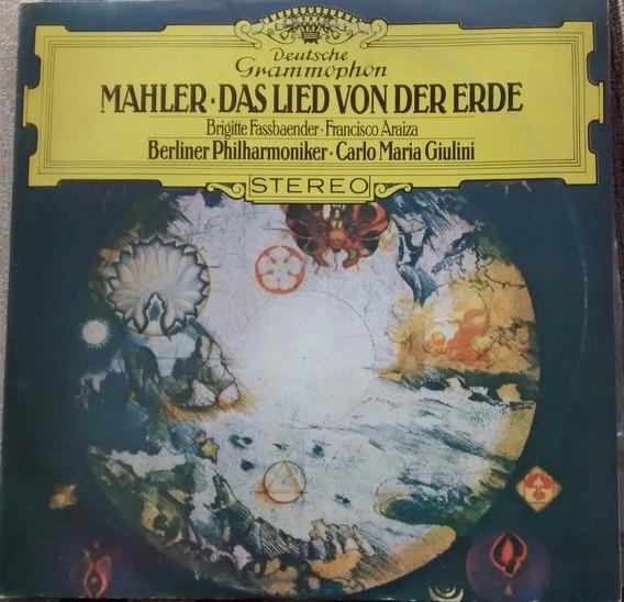 Disco De Vinilo-mahler-la Cancion De La Tierra-giulini