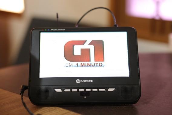 Tv Portátil 7 Usada Em Estado De Nova Ponta De Estoque