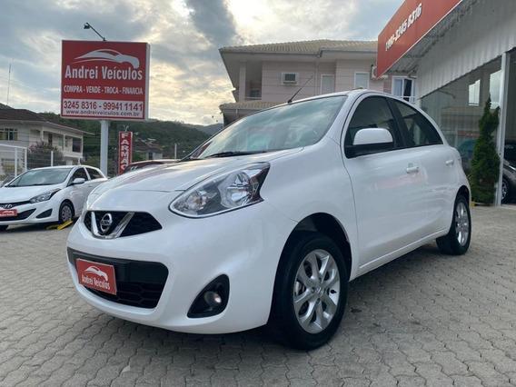 Nissan March 1.0 Sv Flex Completo 2018