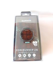 Relógio Monitor Cardíaco Garmin Forerunner 235. Preto E Azul