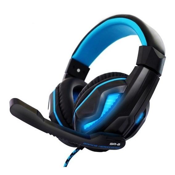 Headset Gamer Bright 0467 Com Microfone Pc 2 Plugues 3,5mm