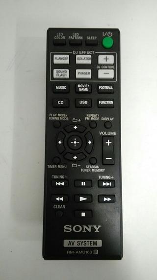 Controle Remoto Rm-amu163 Sony Shake 5 100% Original Novo