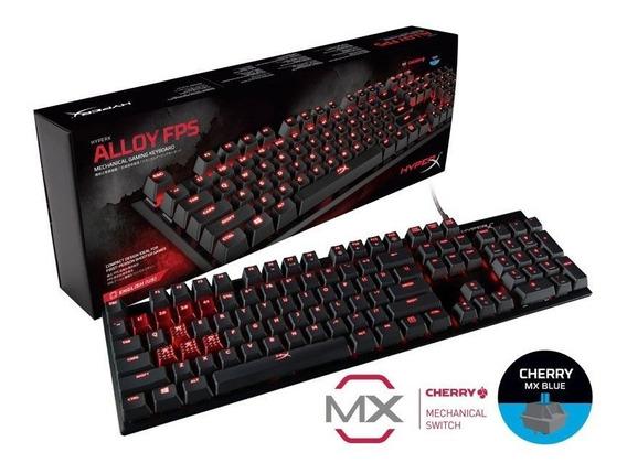 Teclado Mecânico Gamer Hyperx Alloy Fps Cherry Mx Us
