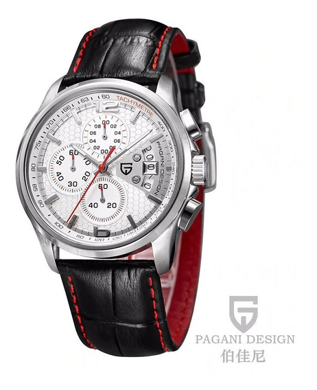 Relógio Pagani Design Quartzo Masculino Presente Natal