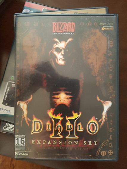 Diablo 2 Expansion Set Lord Of Destruction Original Frete $9