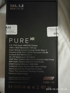 Celular Blu Puré Xr 4-64gb