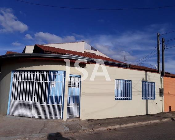 Alugar Casa, Vila Nova, Sorocaba, 03 Dormitórios 01 Suite, Banheiro Social, Sala 02 Ambientes, Cozinha Ampla Com Balcão. Lavanderia, Corredor Lateral - Ca02745 - 34377836
