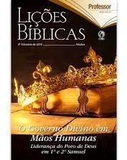 Lição Bíblica Prof Adulto O Governo Humano 4º Trimestre 2019