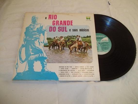 Lp Vinil - O Rio Grande Do Sul E Suas Músicas