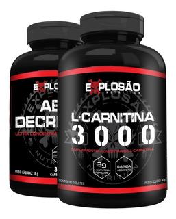 Adrenalin L- Carnitina C/ Cafeína 420mg Emagrecedor Explosão