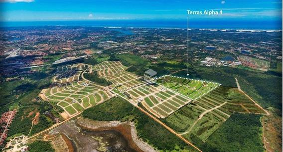 Terreno À Venda Terras Alpha 4, 275 M² Por R$ 126.700 - Santo Antonio - Eusébio/ce - Te0281