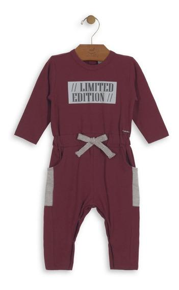 Macacão Suede Cotton Infantil Up Baby