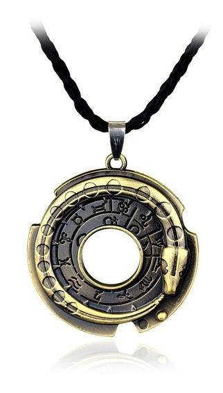 Collar Con Dije Amuleto De Connor Assassins Creed Serpiente