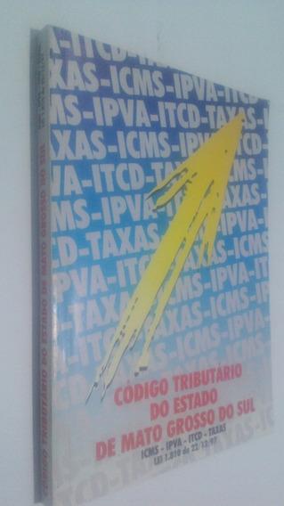 Livro Codigo Tributario Do Mato Grosso Do Sul