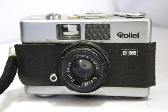Câmera Fotografica Rollei B35 Colecionadores Retirada Peça