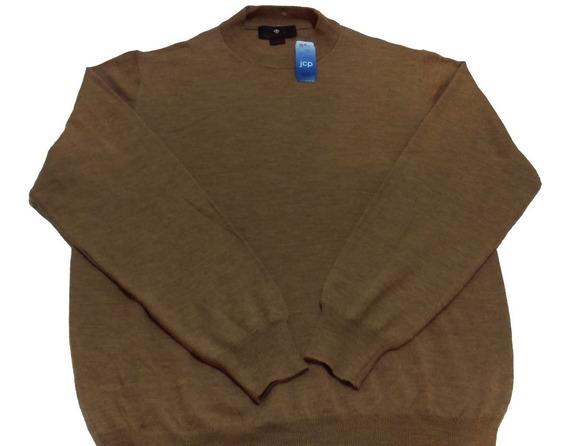 Suéter De Hombre Marca Toscano, Talla L, Color Beige,nuevo.