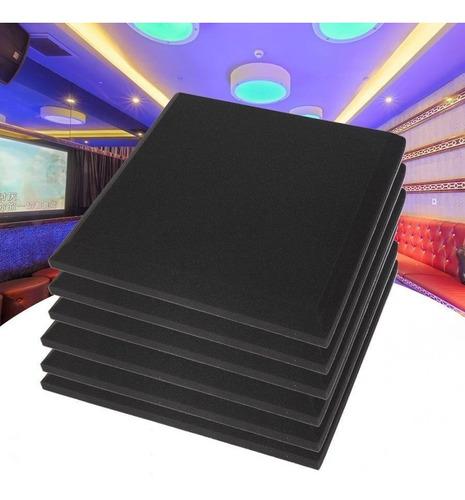 Panel Foam Fono Absorbente Flat Esponja Acústica 10 Unidades