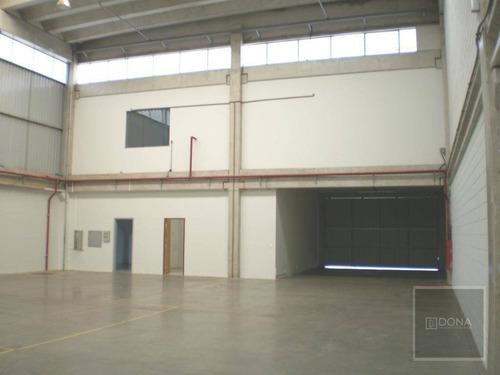 Imagem 1 de 11 de Galpão Industrial Para Locação, Techno Park, Campinas. - Ga0007