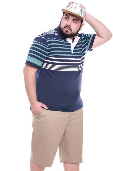 Bermuda Big Extra Plus Size Tamanho 50 Ate 64