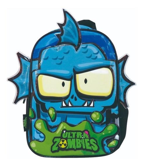 Mochila Espalda Jardin 12 Pulgadas 30x20cm Ultra Zombies