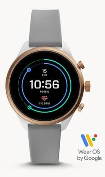 Aceito Propostas! Relógio Smartwatch Fossil Sport Cinza