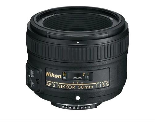Imagem 1 de 6 de Lente Nikon Af-s Nikkor 50mm F/1.8g Nova Pronta Entrega