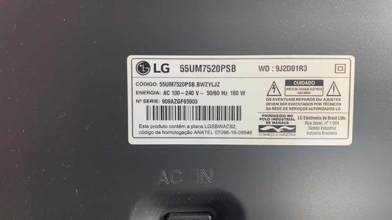 Vendo Televisão, LG 55um7520psb, Garantia De Fabrica.
