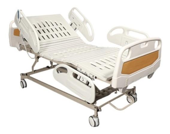 Cama De Hospital Electrica 5 Posiciones + Colchon