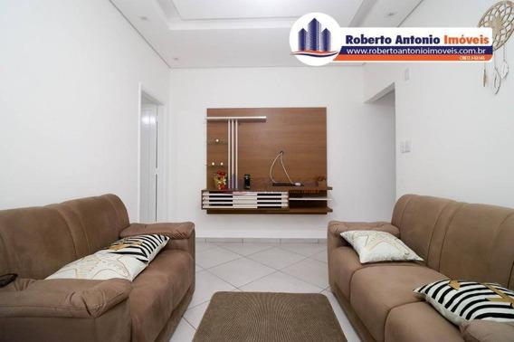 Casa Com 3 Dormitórios À Venda, 80 M² Por R$ 390.000,00 - Boqueirão - Praia Grande/sp - Ca0053